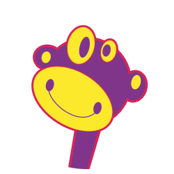 Joe Video monkey mascot