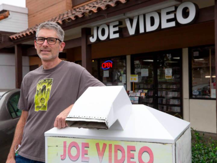 Video Store Survivors: Joe Video featured in the Press Democrat